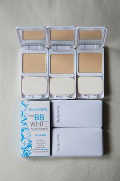 Magic BB White Powder Foundation by SILKYGIRL Cosmetics.