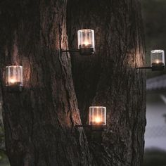 Pin Lanterns for your trees or wooden posts
