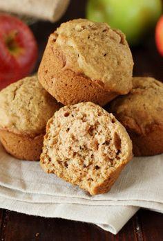 Applesauce Muffins ~ our family's favorite muffins!  www.thekitchenismyplayground.com