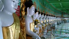 U Min Thone Ze Pagoda is situated on the Sagaing Hill and it's natural limestone cave that is resided 45 Buddha Images inside