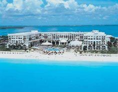 The Mariott Casa Magna in Cancun -- stayed here a couple of times, once with my brother and sister in law.  Fun.