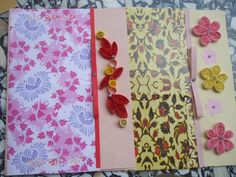 Quilled cards by shirin's hobbies, via Flickr