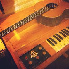 Guitar mellotron @timwheeler1977