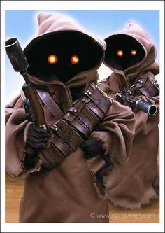 Star Wars - Jawas by Gary Tymon