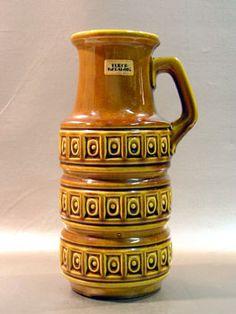 fat lava pottery | Fat-Lava (West Germany Studio Pottery)