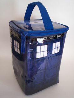 'Doctor Who Tardis lunch bag' $15