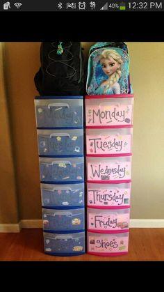 Organization first week of school