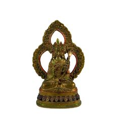 Antique Tibetan Brass Buddhist Deity Sculpture from Nepal from Appraised and Authenticated Vintage Vogue, Rare Antique, Vintage Home Decor, Deities, Nepal, Vintage Jewelry, Auction, Bronze, Brass