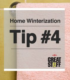 Home Winterization Tip #4: Cold air can come into your home through gaps around electrical outlets. Seal those gaps with GREAT STUFF Fireblock. It is designed to impede the spread of fire and smoke through service penetrations. | greatstuff.dow.com | #GREATSTUFF #FoamInsulation #Insulation #AirSeal #Winterization #Fireblock