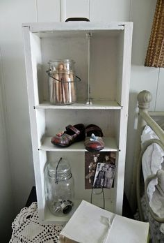 vintage drawer as display @A Southern Belle with Northern Roots