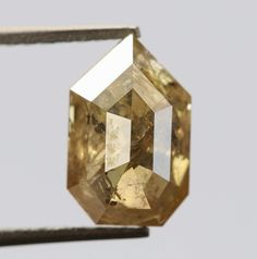 1.54 Ct, 8.7 X 5.5 X 3.5 MM, Geometric Shape Champagne Color Natural Loose Beautiful Diamond, Alternative Diamond, Real Diamond, Rings, R534 by VishwaImpex on Etsy Rough Diamond, Rose Cut Diamond, Diamond Rings, Pepper Color, Diamond Alternatives, Champagne Color, Conflict Free Diamonds, Natural Diamonds, Geometric Shapes