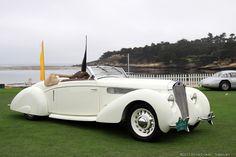 1938 Delage D6-70 Letourneur et Marchand Cabriolet