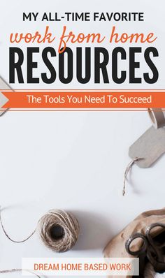 I strongly recommend these tools and resources for starting a work from home career and building a money-making blog.