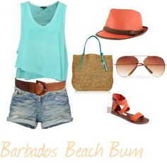 Barbados Beach Bum, created by shugakandy