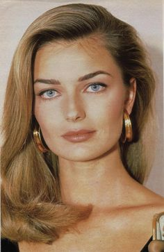 Paulina Porizkova with blond hair // beautiful face Paulina Porizkova, Most Beautiful Faces, Beautiful Eyes, Beautiful Women, Beauty Makeup, Hair Makeup, Hair Beauty, Original Supermodels, Classic Beauty
