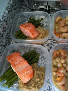 Healthy Meals - healthy meals to go, great ideas for work lunches!