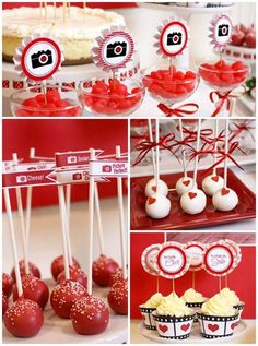 """See this charming """"you've captured my heart"""" Valentine's Day party on Kara's Party Ideas .com today by Sweet & Clever!"""