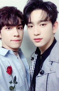 Jinyoung (Got7) & Wonpil (Day6)