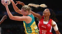 BBC Sport - Netball World Cup: England beaten by holders…