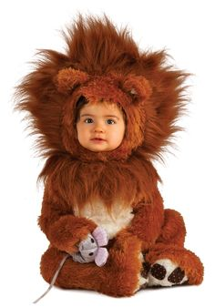 Extreme Lion Baby Costume... the mouse was a cute touch.