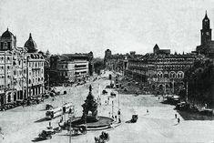 gole deval and around this templle in mumbai Rare Photos, Old Photos, Vintage India, Dream City, In Mumbai, Big Ben, Paris Skyline, Past