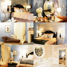 Gossip Girl Bedroom serena van der woodsen room. | vans, room and gossip girls
