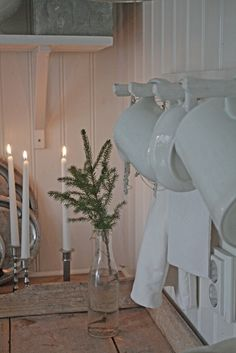 simple kitchen Christmas decor...