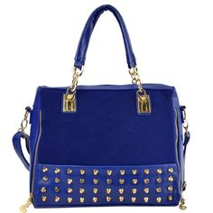 Medium Studded Hobo Tote