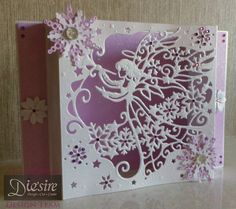 Angela Clerehugh - Die'sire Create A Card – Christmas Angel - Die'sire Snow is Falling Die, Centura Pearl Card, Pink Glitter Card, Holographic Embossing Powder, Easy Crystals Starter Kit for Paper, Die'sire Poinsettia Die, Collall Tacky Glue, Crafter's Companion Tape Pen, Collall Gel Glue, Stick It, Rhinestone Gems - #crafterscompanion #Christmas