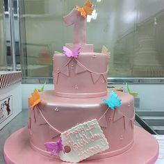 Neon birthday cake 110413 Carlos Bakery Facebook page post umm