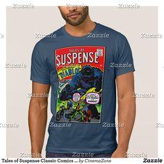 564ea29894 Tales of Suspense Classic Comics T-Shirt, t-shirt, Men's novelty T