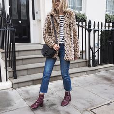 The Frugality | Leopard + stripes