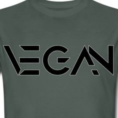 Vegan Logo Bio/Fair T-Shirt Männer