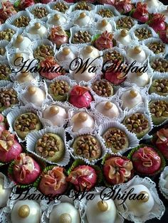 selection of Algerian cakes and sweets