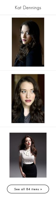 """Kat Dennings"" by daryldixonlover ❤ liked on Polyvore featuring people, kat dennings, hair, photos, accessories, eyewear, sunglasses, darcy lewis, marvel and avengers"
