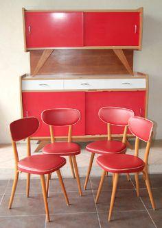 lucinevintage, buffet, années 50, baumann, déco, vintage