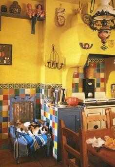 Sunny boho kitchen - blessed wild apple girl
