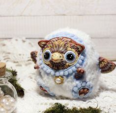 Fantasy Doll Creature Animal Art Fantasy by LullabyForFox on Etsy