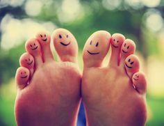 reflexology foot map - happy feet