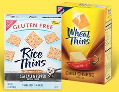 Nabisco Facebook Coupon: $1/2 Wheat or Rice Thins