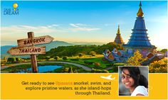 Upaasna is all set for her dream destination, Thailand! Don't miss the action. Get a glimpse of it here: http://cnk.com/gydthailand