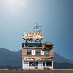 Western Realty.  By digitally singling out old and neglected building across the western United States, photographer Ed Freeman challenges us to discover these architectural structures with fresh eyes. It's a series so brilliantly executed. Turns out, beauty was in front of us this entire time