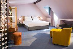Les 5 plus belles suites d'hotels à Paris Hôtel Saint-Marc