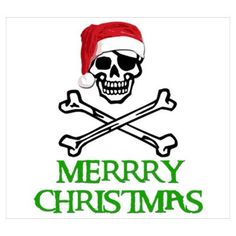 Merry Christmas Pirate