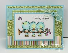 I LOVE the layout of this card. so cute!
