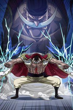 One piece yonkou shirohige whitebeard One Piece Manga, Ace One Piece, One Piece Drawing, Zoro One Piece, One Piece World, One Piece Comic, One Piece Fanart, Anime Echii, Anime Art