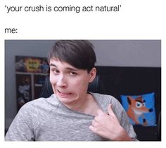 i think when it comes to crushes i'm as transparent as dan looking at phil Tabinof, Phan Is Real, Dan And Phill, Phil 3, Danisnotonfire And Amazingphil, Sam And Colby, Phil Lester, Dan Howell, Indie Games