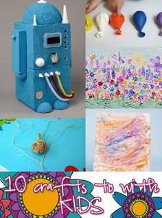 10 crafts to do with kids.. by diane.smith