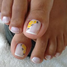 Unhas do Pé Decoradas 1155