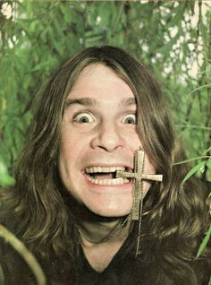 Happy Birthday to the Prince of Darkness, Ozzy Osbourne! Heavy Metal Music, Heavy Metal Bands, Ozzy Osbourne Quotes, Beatles, Ozzy Osbourne Black Sabbath, Master Of Reality, Musica Metal, Geezer Butler, James Dio